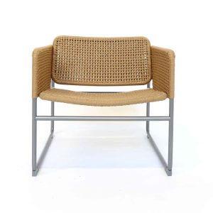 Industriell collectie Ikea stoel met stalen frame