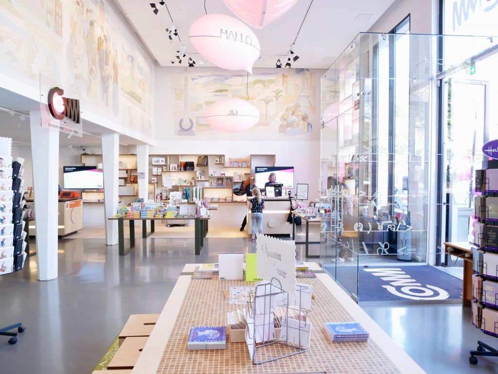 Comm Museum shop Den Haag