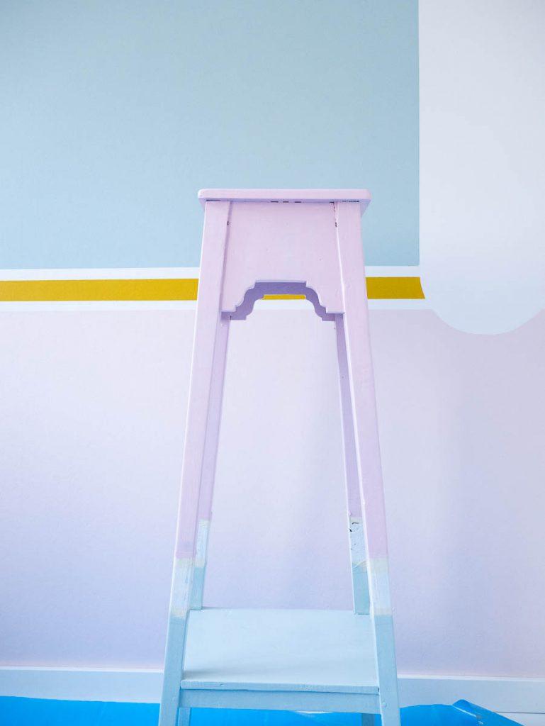tafeltje pimpen met Flexa Creations